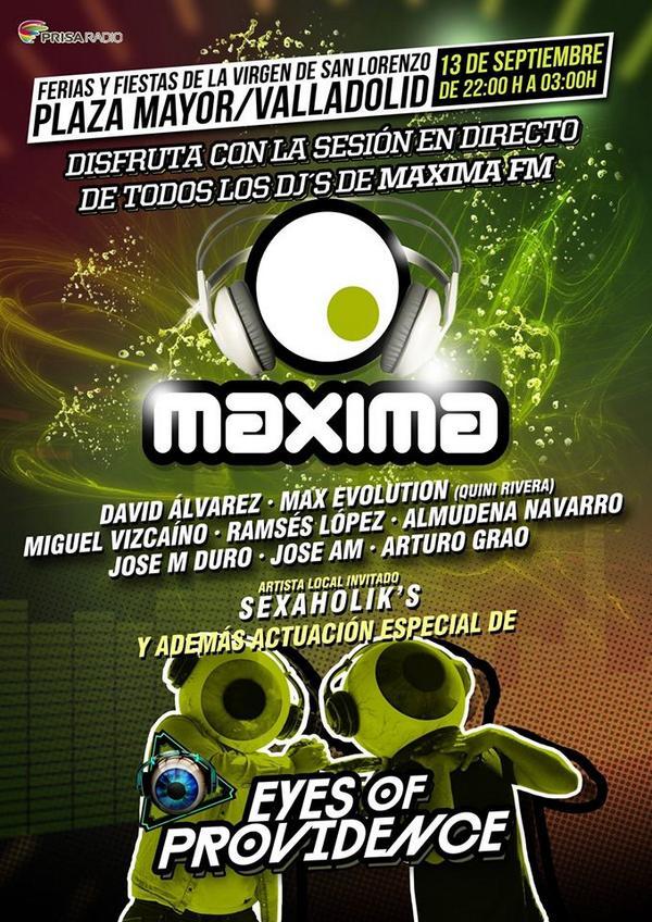 valladolid - maxima pucela dance - septiembre 3