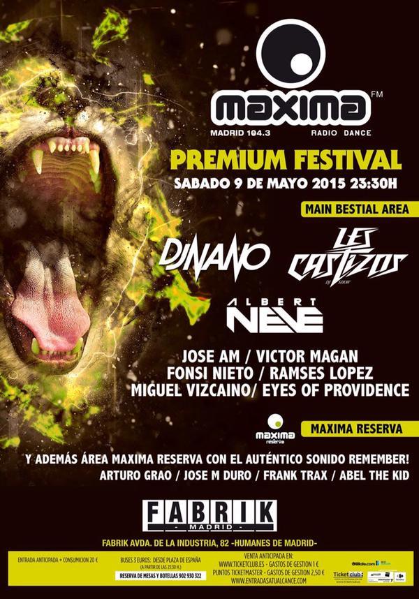 madrid - fabrik - maxima premium festival  - mayo 2015