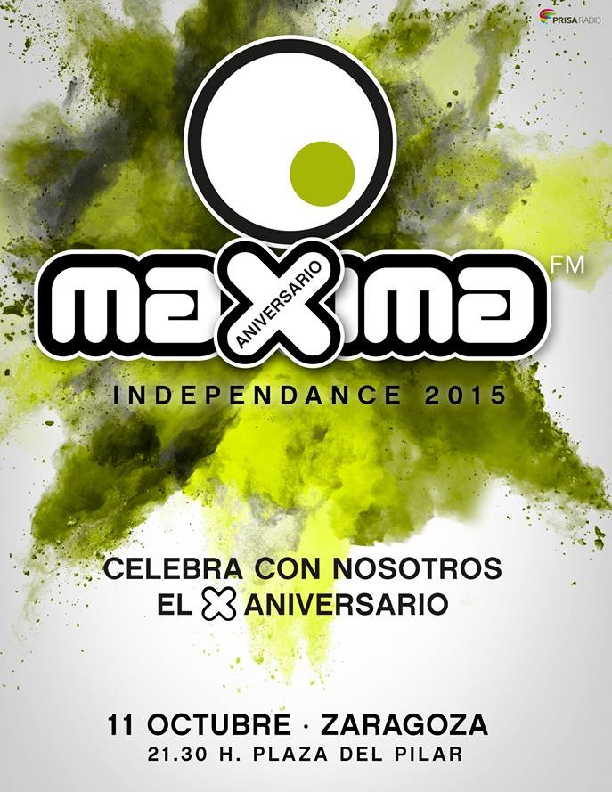 maxima independance 2015 - flyer