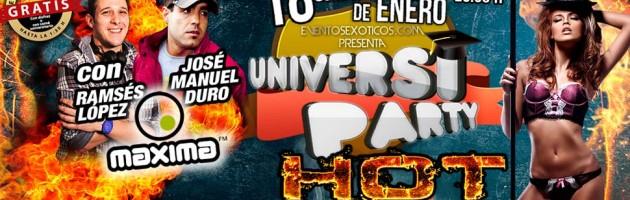 Universiparty: este sábado en FABRIK (Madrid)