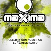 Maxima Independance 2015 @ Zaragoza